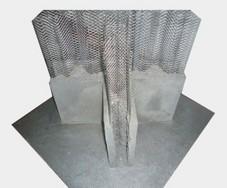 中空内模金属网水泥内隔墙