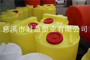 500L聚乙烯加�桶,500升�A形PE加�桶