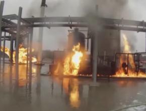 危险化学品爆炸火灾演习用烟雾机飞机火车真实火场模拟用发烟装置
