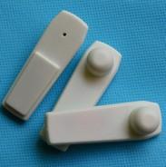 小白板电子标签 衣服箱包防盗磁扣