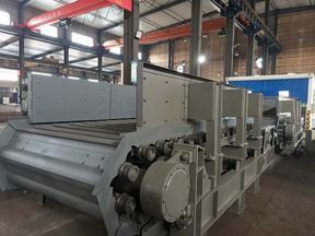 板式给矿机在水泥厂原料配料系统中的技改