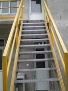 南通熔邦玻璃钢/格栅/玻璃钢楼梯平台
