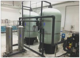 艾德尔社区饮用水过滤系统设备