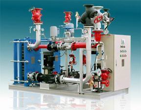 CLZH 苏州高温蒸汽型板式换热机组特点