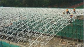 湖南拱形屋面工程|长沙拱形波纹钢屋盖生产厂家