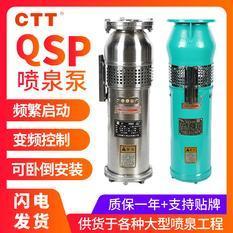 qsp喷泉泵现货批发QSP65-13-4不锈钢喷泉潜水泵