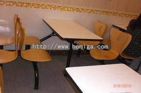 弯木餐桌椅,供应给麦当劳,肯德基KFC的弯木餐桌椅