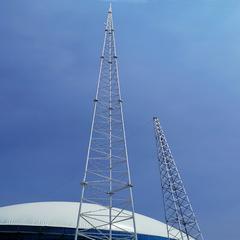现货供应20米25米30米35米40米GJT圆钢避雷塔
