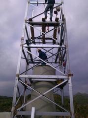 专业安装钢烟囱