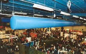 优值索斯在大型展厅的使用