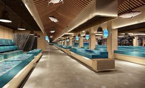 长沙农贸市场摊位设计 长沙菜市场摊位设计 咨询长沙壹番设计