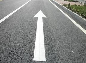 广州道路小区车位热熔划画线