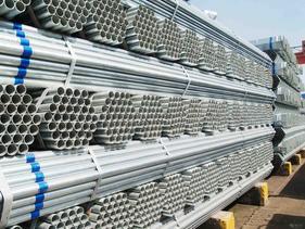 上海热镀锌管长期现货低价销售