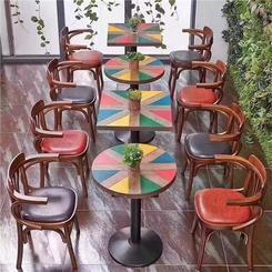 主题餐厅餐桌椅,个性餐厅餐桌椅厂家供应