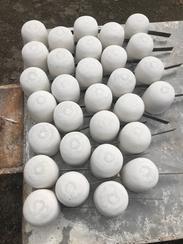厂家批发硅酸铝取样勺钢水取样勺 碳硅分析仪专用金属液态取样器