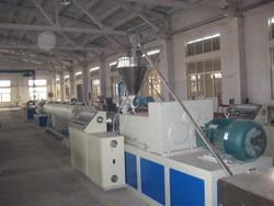 青岛胶州生产PVC塑料管材设备/PE塑料管材设备