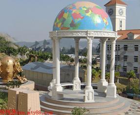 地理模型、地理园、校园文化