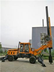 轮式大口径旋挖机 工程地基打桩旋挖钻机 桥梁桩基础旋挖打桩机