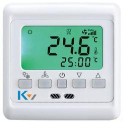 中央空调温控器,风机盘管温度控制器,中央空调液晶温控器