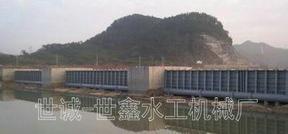 景观钢坝闸门倾倒式翻板钢坝闸门定制