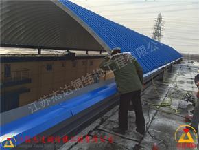 平度米业仓间罩棚尺寸合格