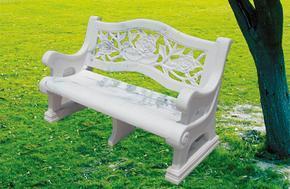 花岗岩镂空园林石椅GCF212