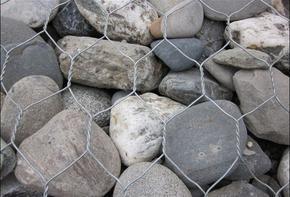 五绞格宾 水利护堤格宾笼 宾格石笼网箱 蜂巢雷诺护垫 钢丝石笼格宾