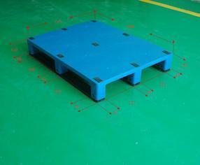 塑料托盘1208平板川字型