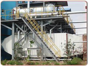 供应工业用余热锅炉