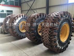 50装载机防滑保护履带 防滑保护链条生产厂家