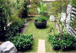 武汉别墅私家花园小户型花园设计与建造
