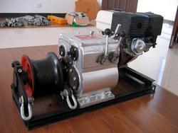新型8吨机动绞磨,紧线式机动绞磨,绞磨机