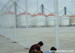 仓库隔离栅/车间护栏网/厂房围墙网