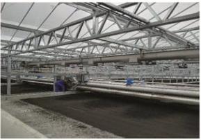 煜林枫太阳能污泥干燥系统节能环保