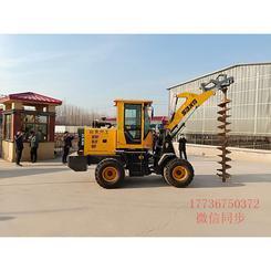 自动化植树挖坑机器装载式挖坑机厂家改装现货出售