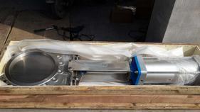 博瑞阀门 KGV-LT气动刀闸阀滑板阀插板阀