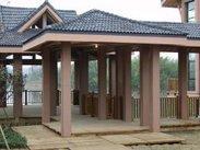 生态木内外墙板 木塑方木 生态木方木列 园林凉亭 公园凉亭
