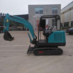 小型轮式挖掘机微型轮式果园小挖机履带式挖掘机运输车欢迎看厂