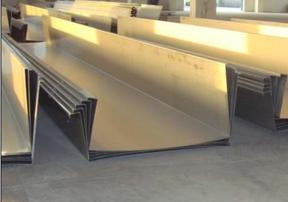 制作不锈钢檐沟(天沟)长度:0.5m-8m、不锈钢管