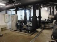 中国科学院使用的高层直连供暖机组