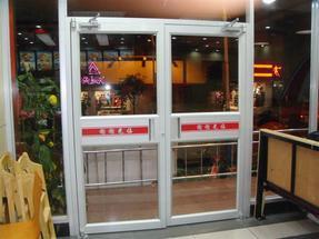 南宁汉堡门,麦当劳门,连锁店门