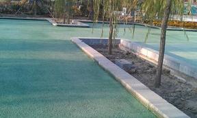 混泥土艺术地面+压花地坪+透水地坪+压模地坪