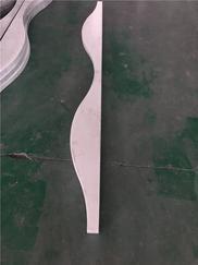 定制波浪造型弧形铝方通吊顶天花厂家