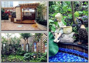 武汉私家花园屋顶花园设计