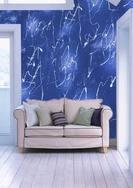 仿墙纸新概念涂料——青蓝云丝漆,为室内装饰增光添色