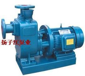 自吸泵:ZWL型直�自吸式�o堵塞排污泵
