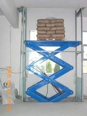 SJD导轨链条升降货梯