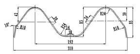 波形护栏通用波形防撞护栏施工波形梁护栏波形护栏cad图波形护栏图波形护栏标准图