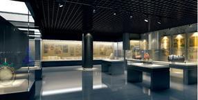 遥控升降博物馆展柜深圳厂家,遥控平移门博物馆玻璃柜生产定做