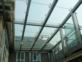 供应河南郑州钢化夹胶玻璃雨棚玻璃